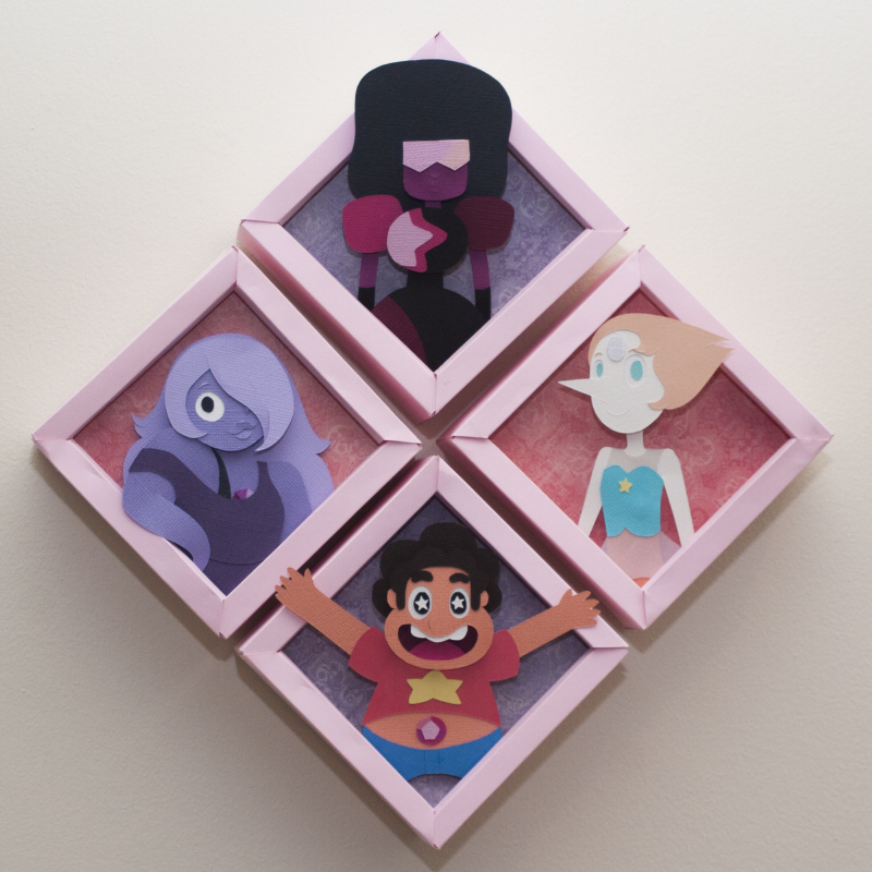 Crystal Gems by PlaidCushion