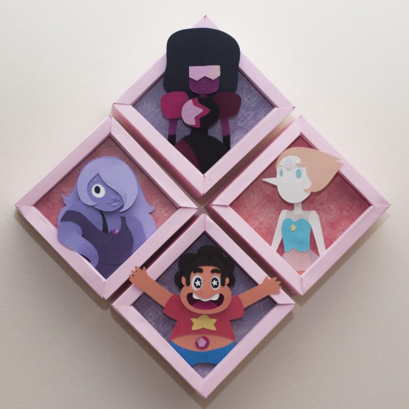 Crystal Gems by PlaidCushion