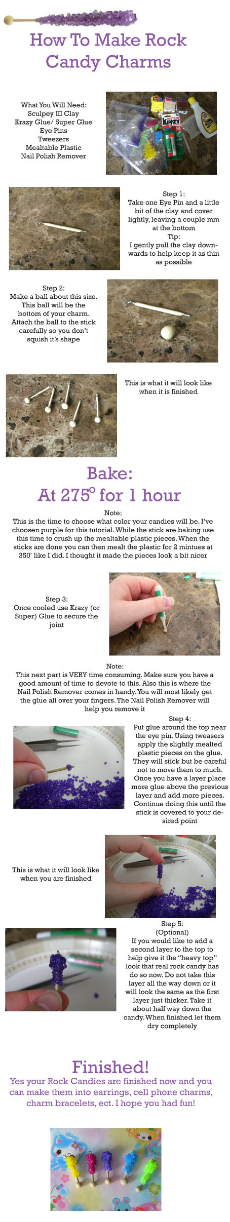 Rock Candy Tutorial by Demi-Plum