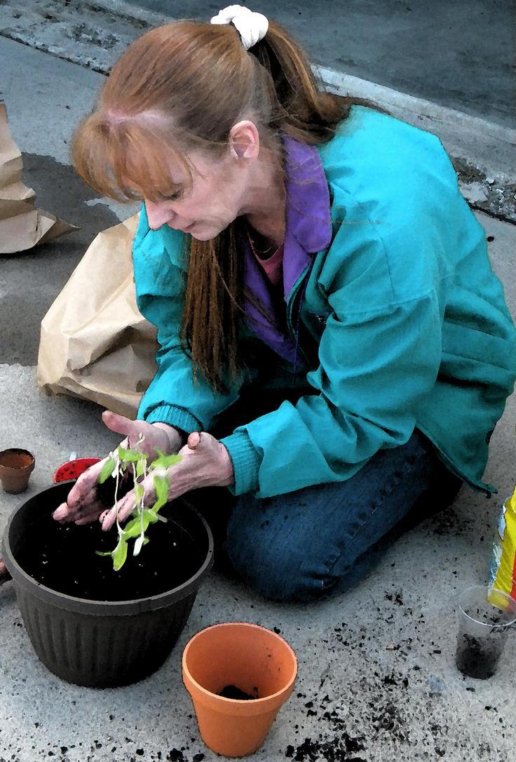The Gardener by Demi-Plum