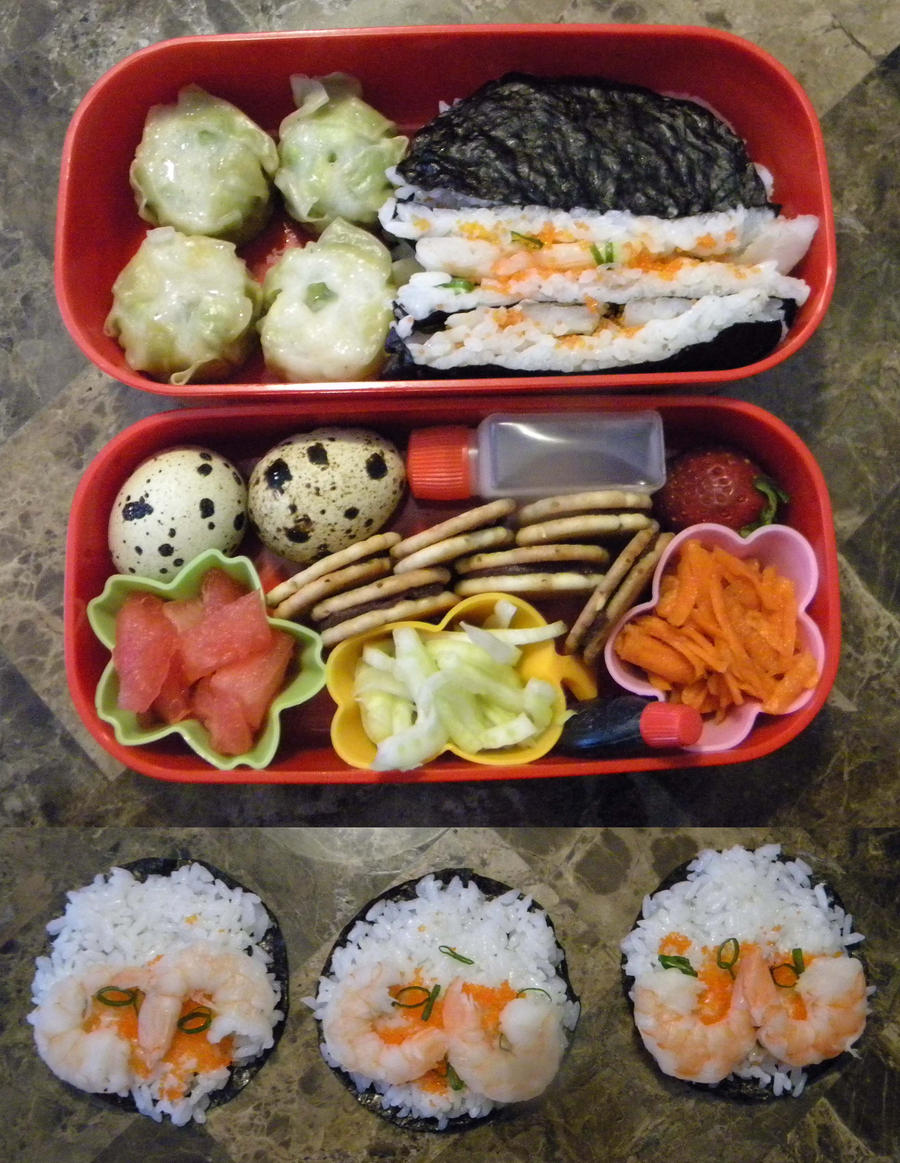 Hell Week Bento by Demi-Plum