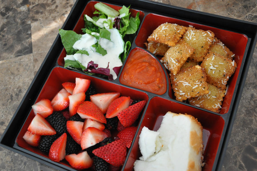 Italian Night Bento by Demi-Plum