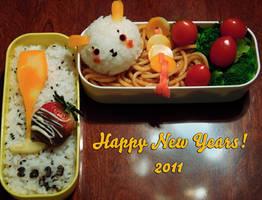 New Years Bento by Demi-Plum