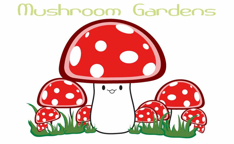 Mushroom Gardens by Demi-Plum