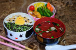 Chick Easter Bento by Demi-Plum