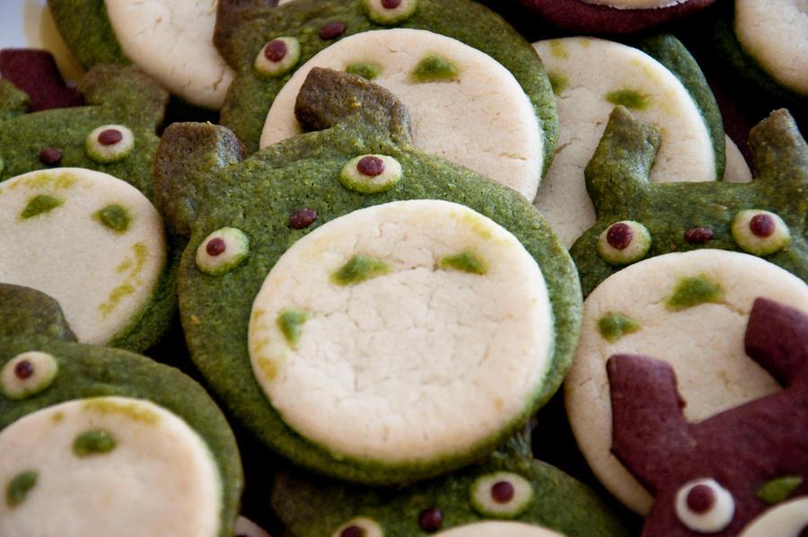 Totoro Cookies by Demi-Plum
