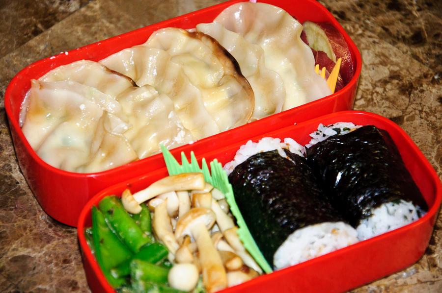 Tofu Gyoza Bento by Demi-Plum