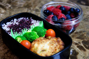 Fried Tofu Bento by Demi-Plum