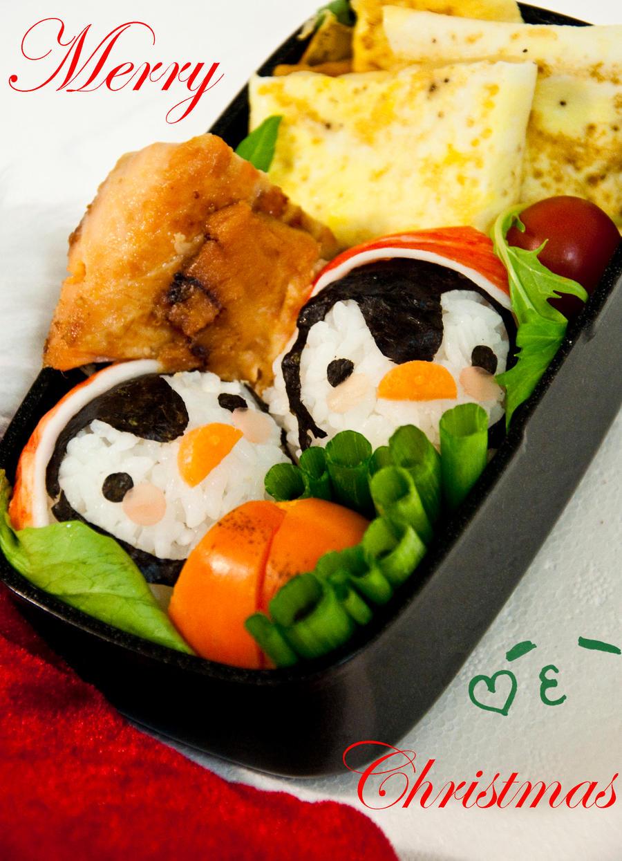 Christmas Bento by Demi-Plum