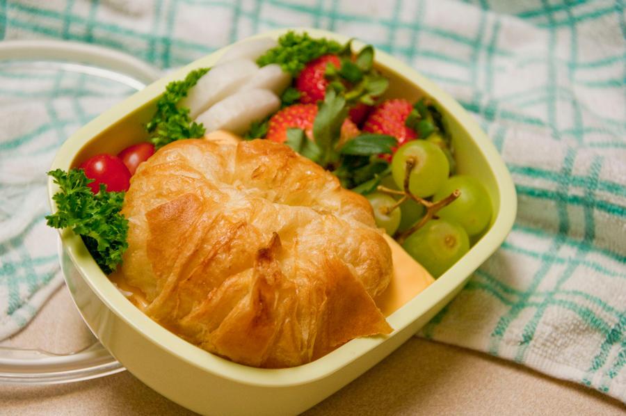 Croissant Sammie Bento by Demi-Plum