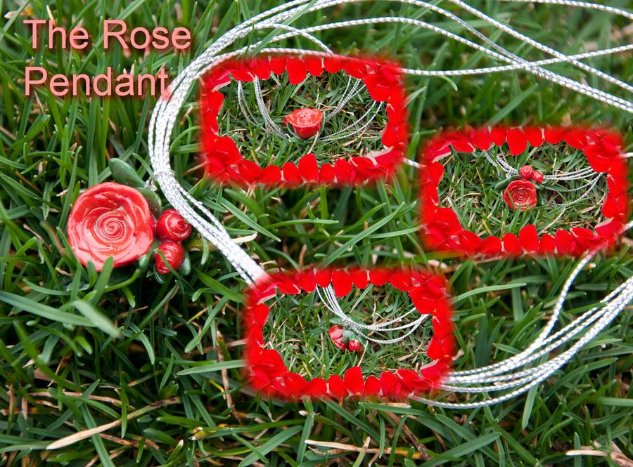 Rose Pendant by Demi-Plum