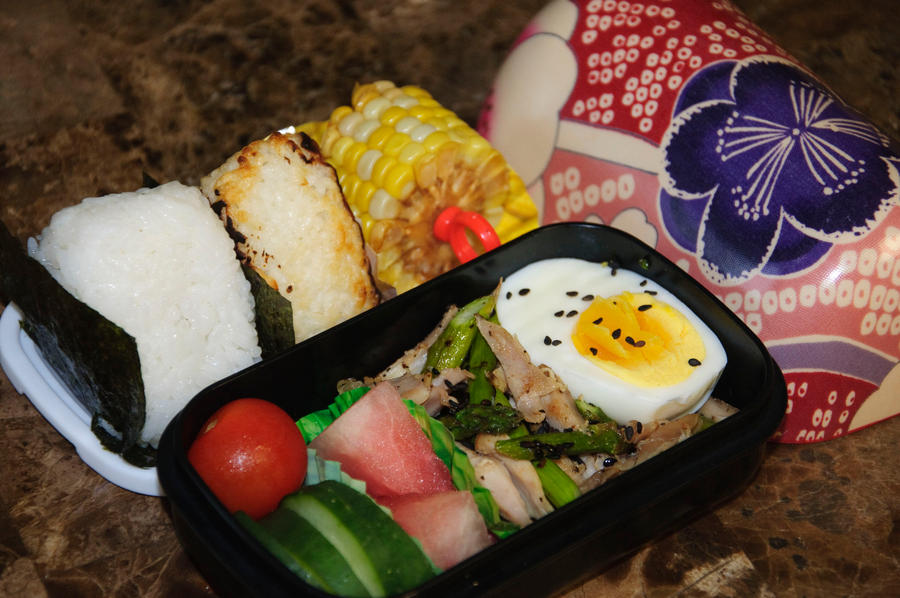 Yaki to Oni Bento by Demi-Plum