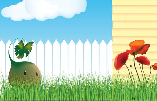Garden Sprites  Character Illustration