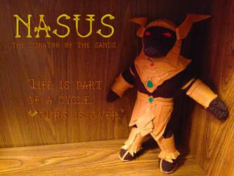 Nasus -Curator of the Sands- Amigurumi