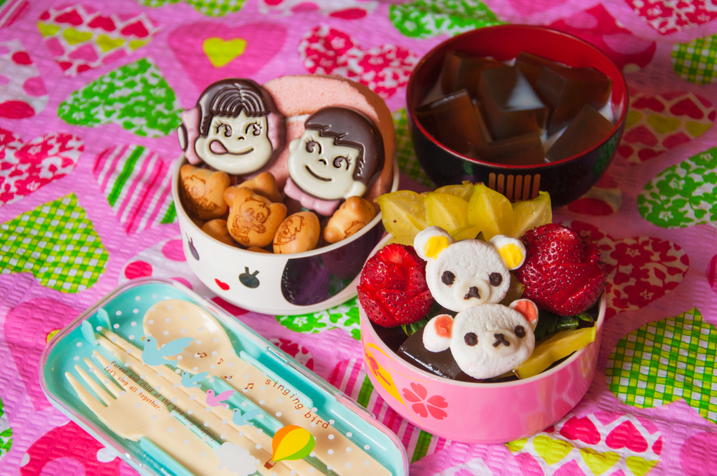 Sweets For My Sweet Bento by Demi-Plum