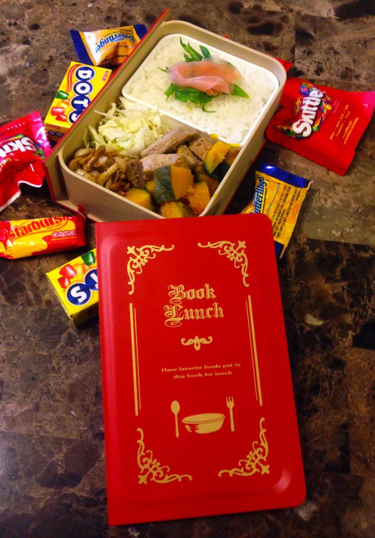Book Box Bento by Demi-Plum