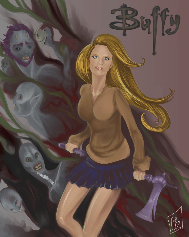 Buffy by misaokiley