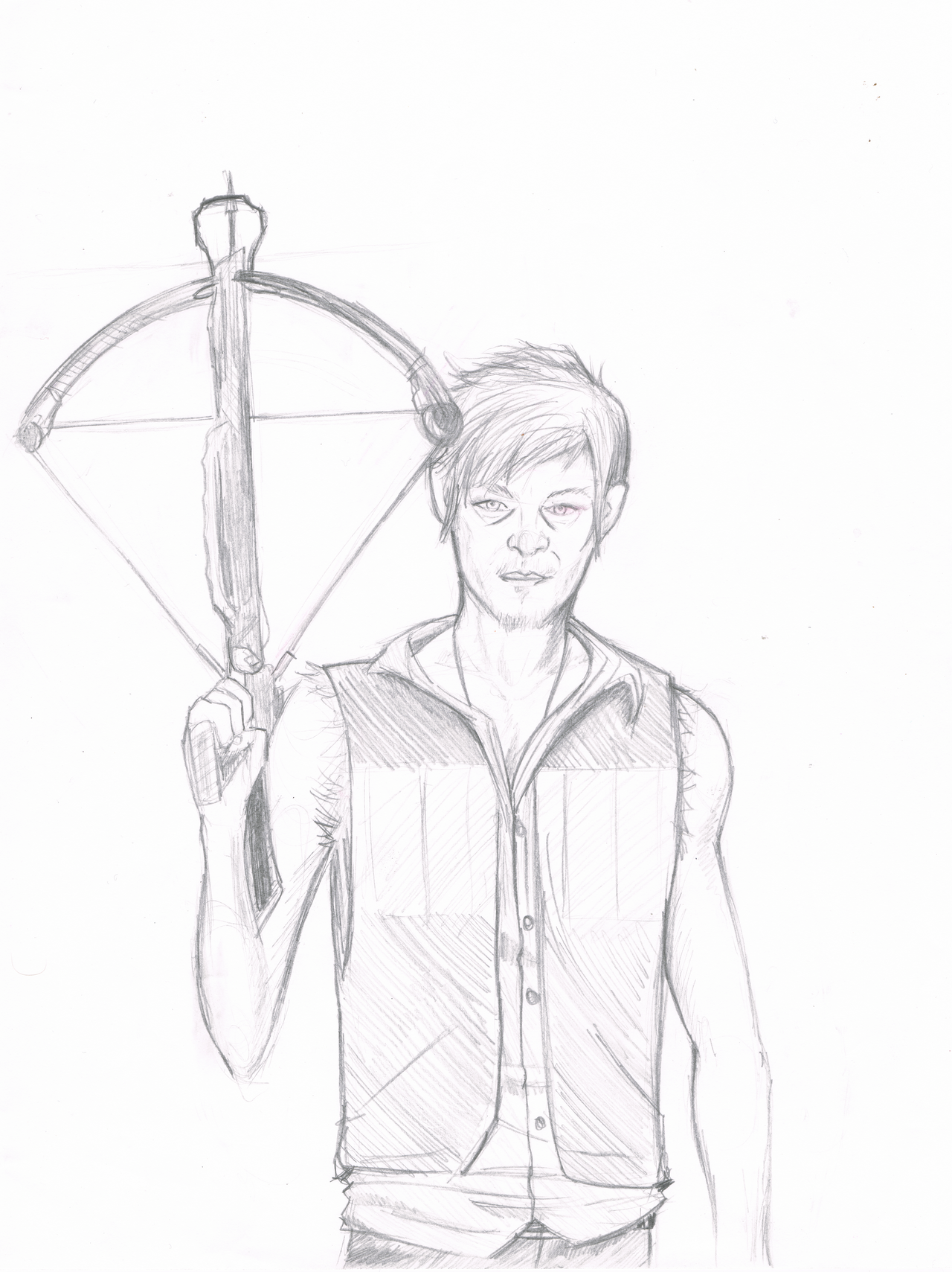 daryl dixon coloring pages - photo#17