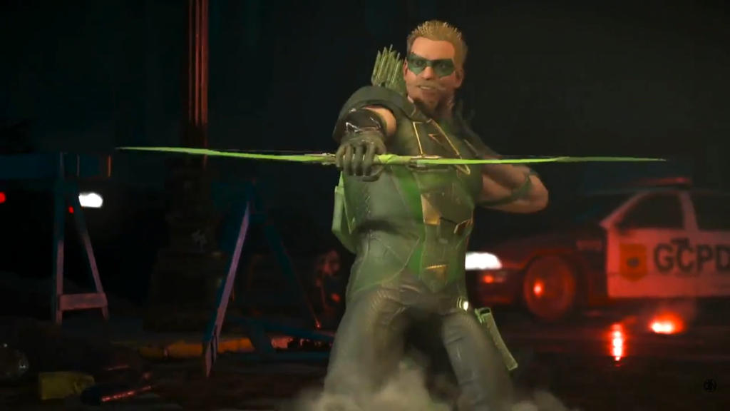 Green Arrow Comes To Injustice 2 By Moneybam