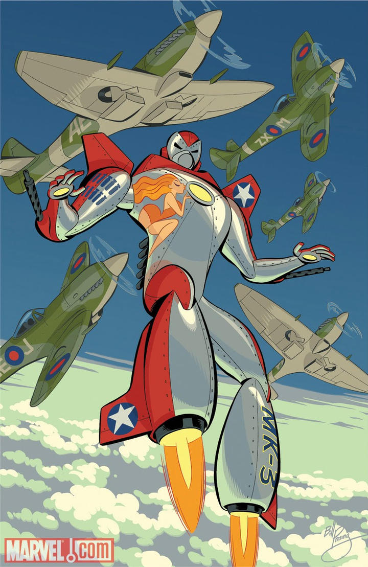 WW II Iron Man by bpresing