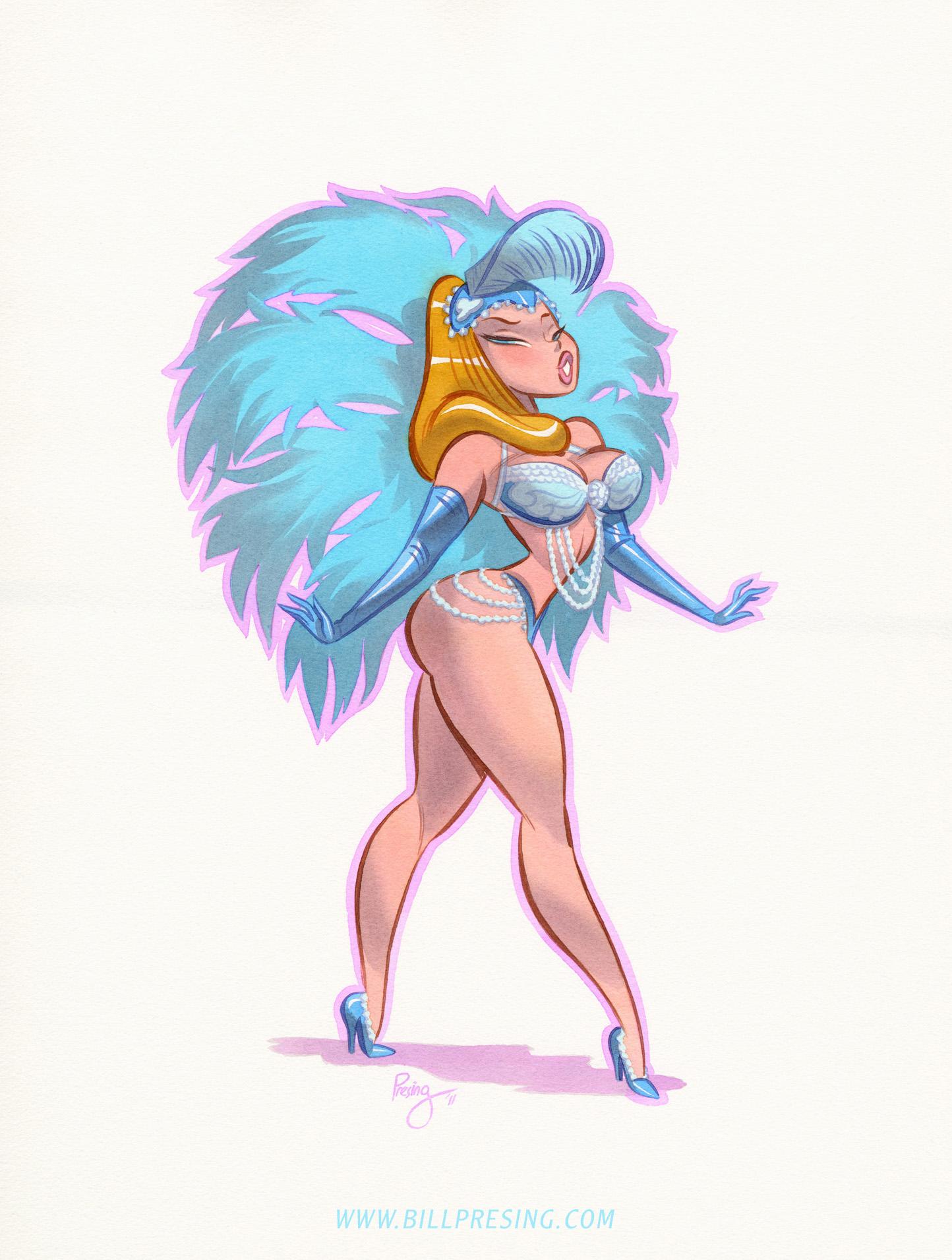 Showgirl by bpresing