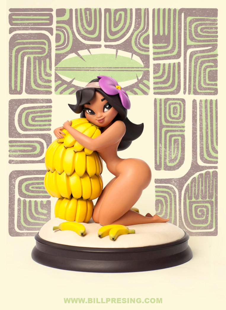 Banana Girl Variant by bpresing