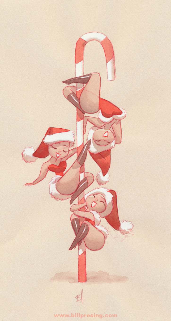 Candy Cane Dancers by bpresing