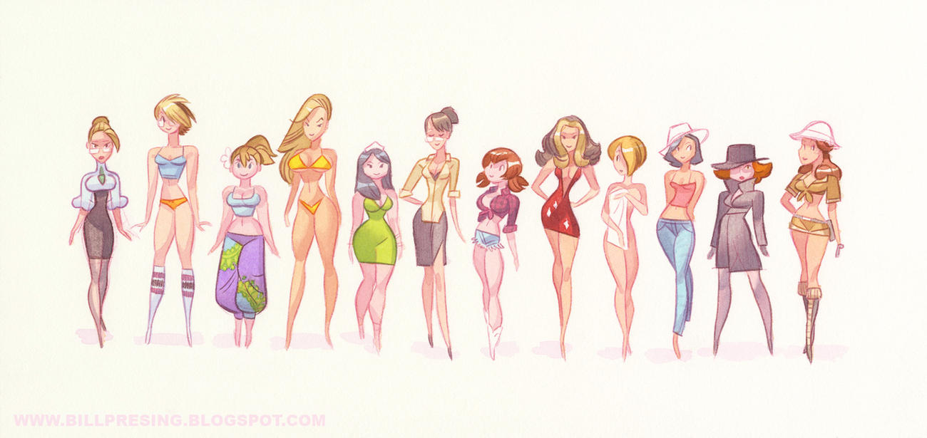 Horoscope Honeys Line Up by bpresing