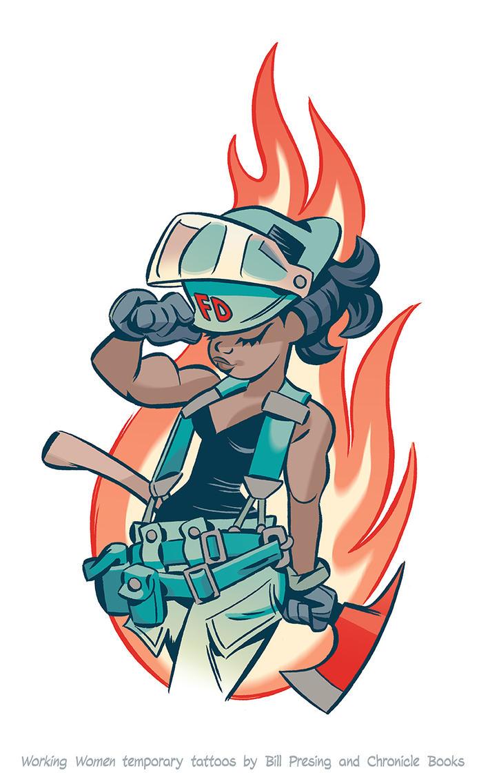 Firefighter #2 by bpresing