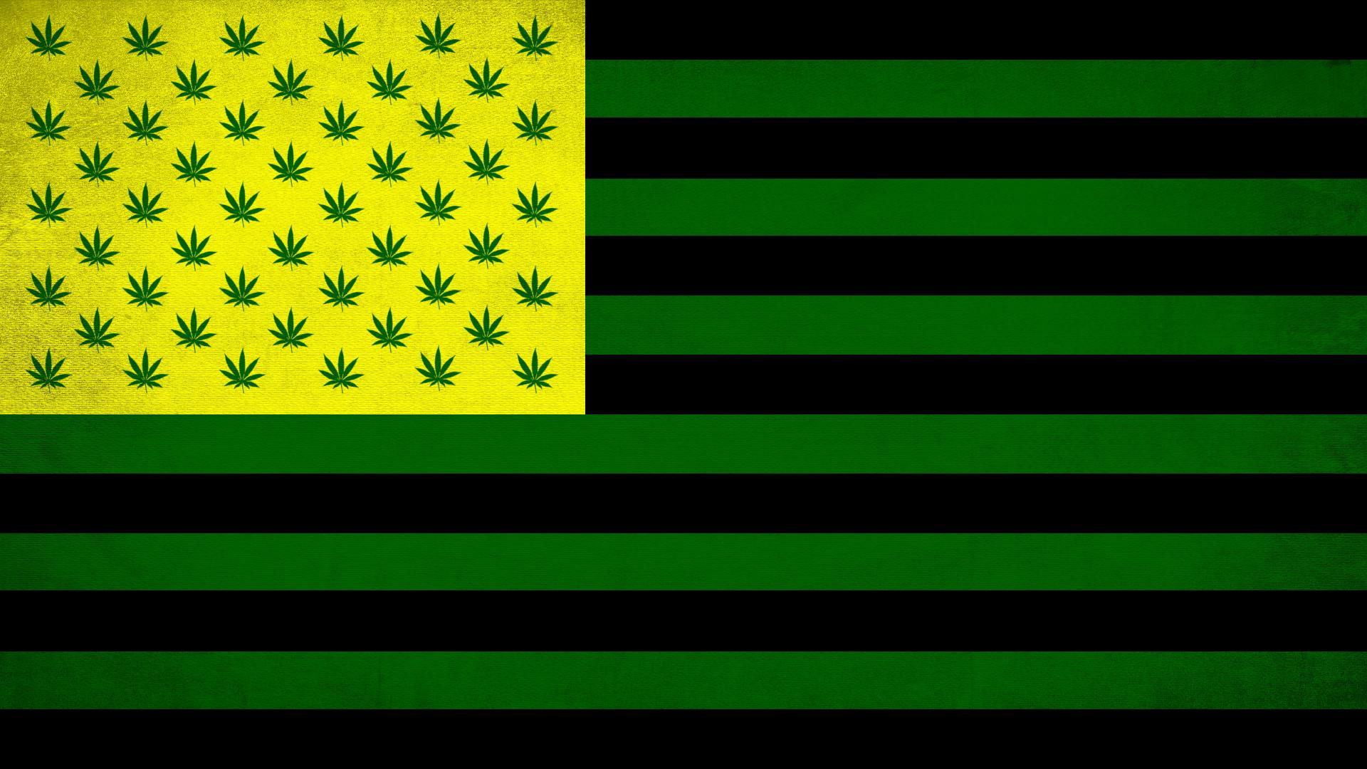 Cannabis Nation Flag by MetoAshoto