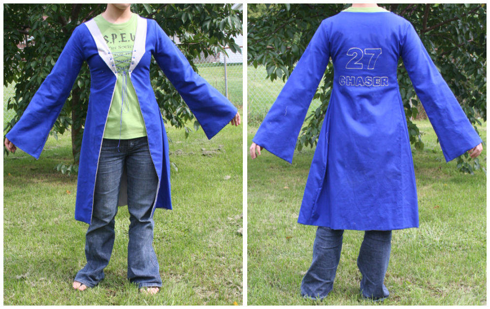 Quidditch Robes Ravenclaw