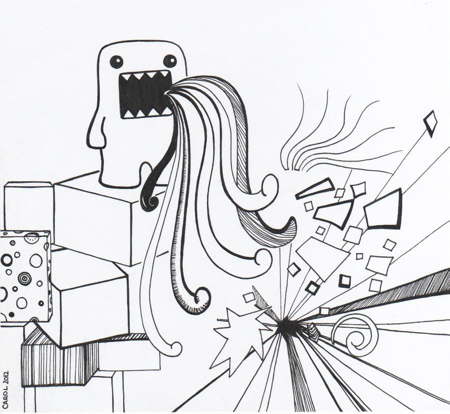Coloring pages of chidos graffiti - Dibujos Para Pintar Domo Kun Graffiti Kamistad Celebrity