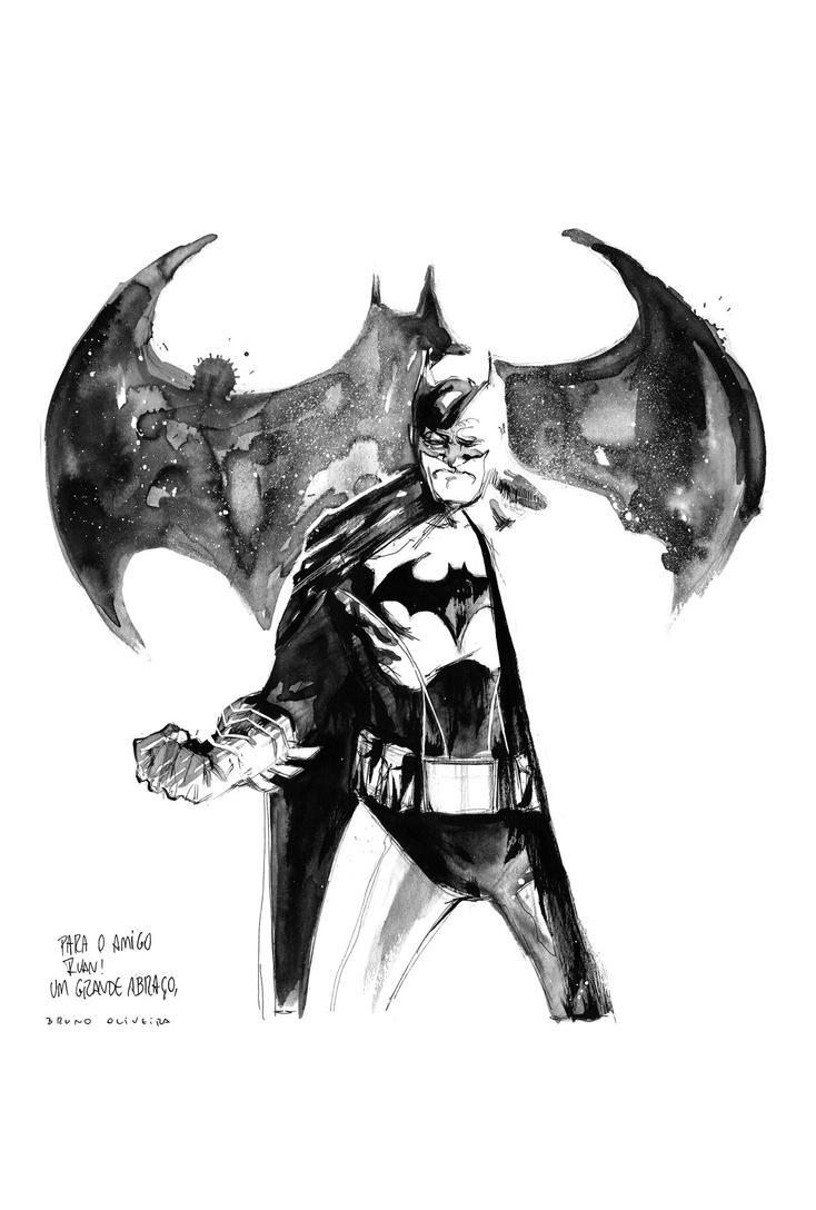 Batman by bbrunoliveira