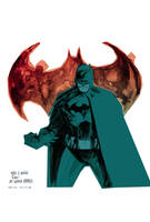 Batman colors by bbrunoliveira