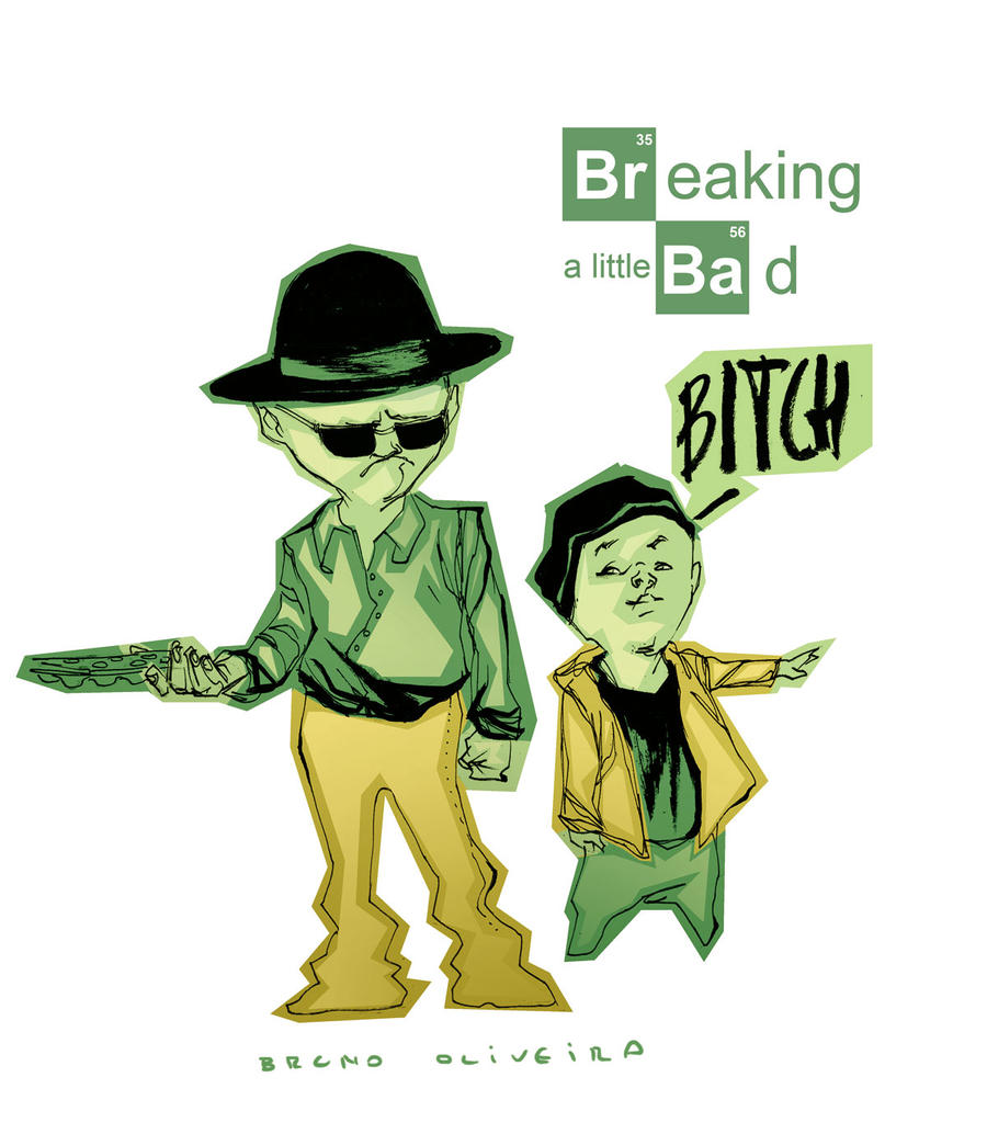 Breaking Bad for kids by bbrunoliveira