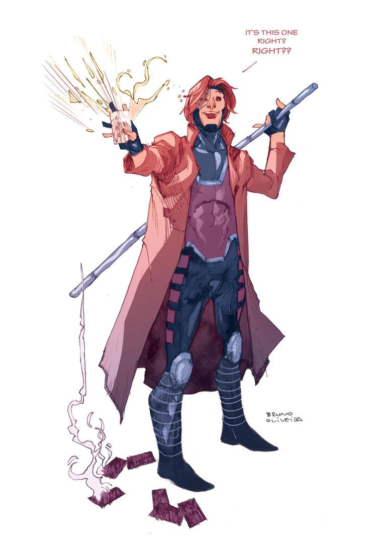 Gambit by bbrunoliveira