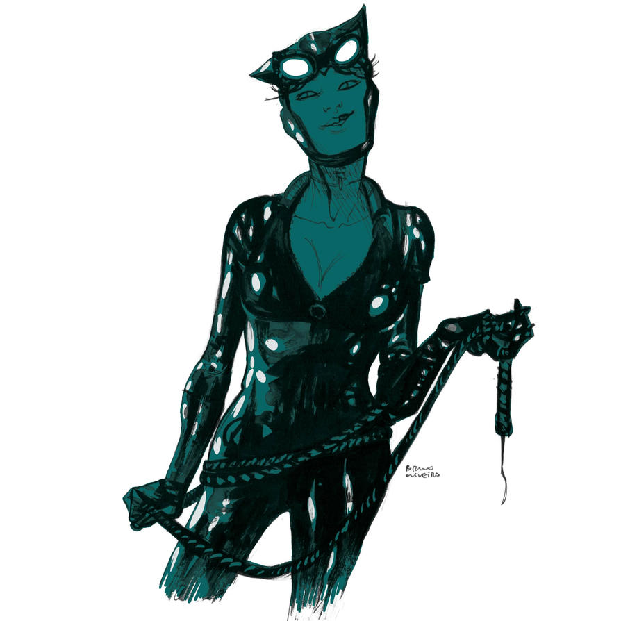 Catwoman-shines-sm by bbrunoliveira