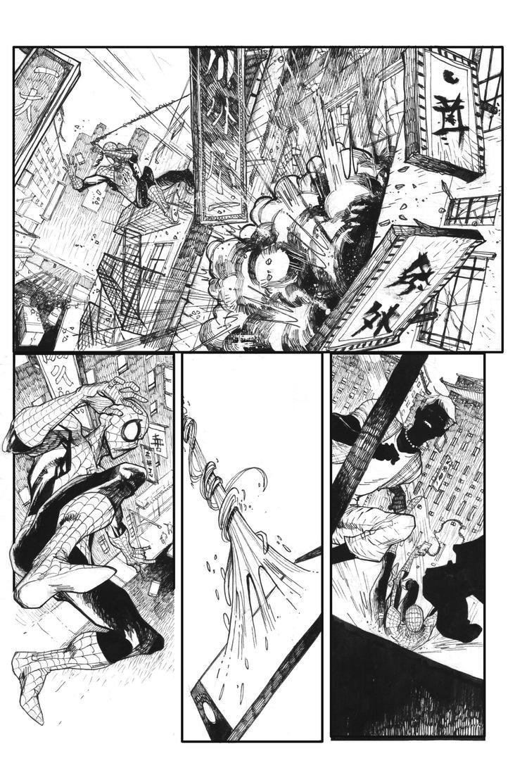 Page1-spiderman-sm by bbrunoliveira