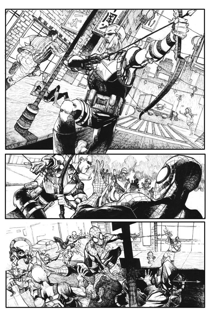 Page2-spiderman-sample by bbrunoliveira