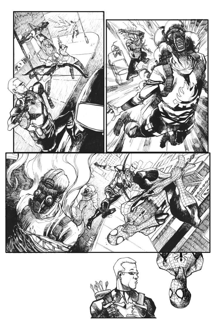 Page3-spiderman-sm by bbrunoliveira