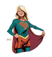 Supergirl by bbrunoliveira