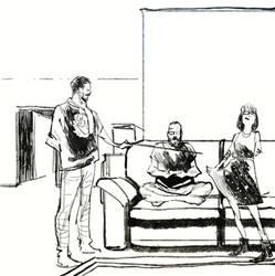 Wip for tomorrows Kickstarter Comic  by bbrunoliveira