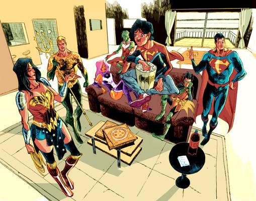 Teen Titans/Justice League