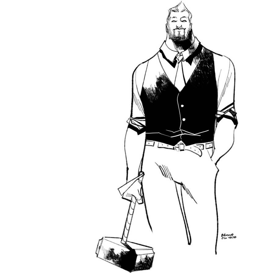 Fancy Thor  by bbrunoliveira