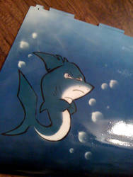 My first airbrush project