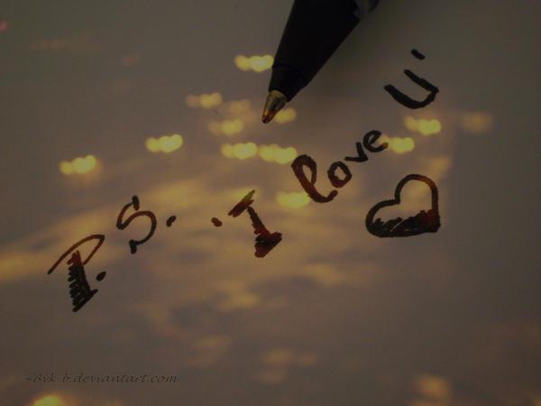 PS I Love U By ByK B