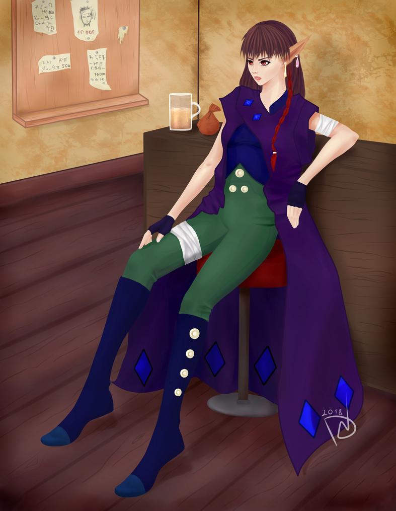 Xyna [OC] by NikkiReam