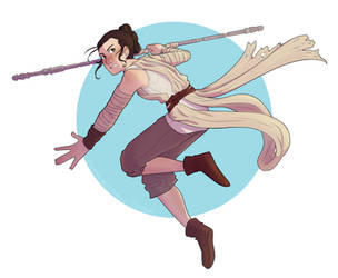 Star Wars - Rey by MissingSock