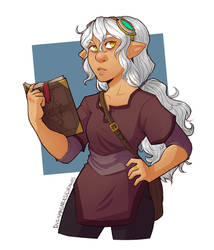 Cora - DnD by MissingSock