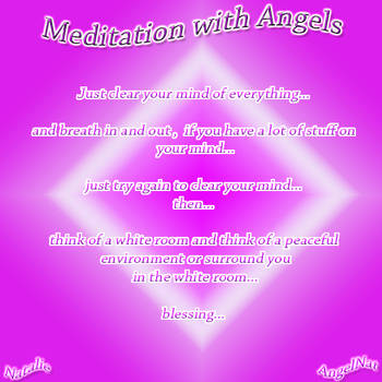 Meditation with Angels by Natalie by Angel77light